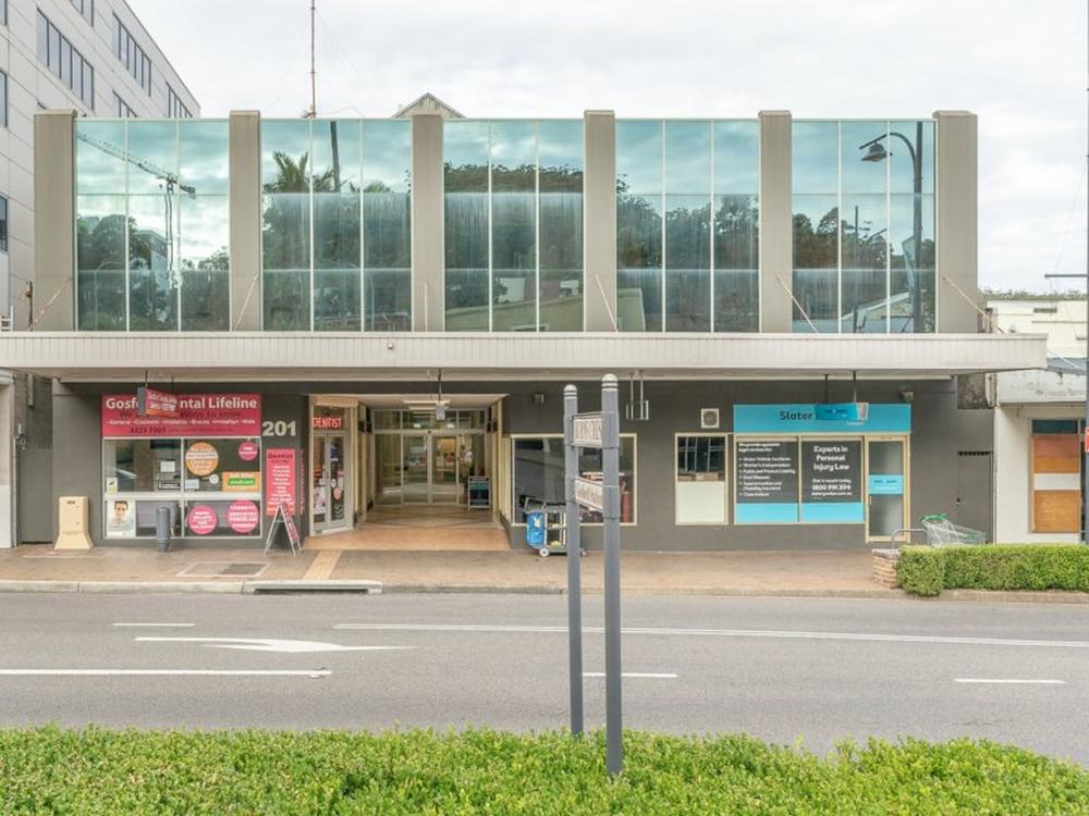 Suite 2 First Floor/201 Mann Street Gosford, NSW 2250