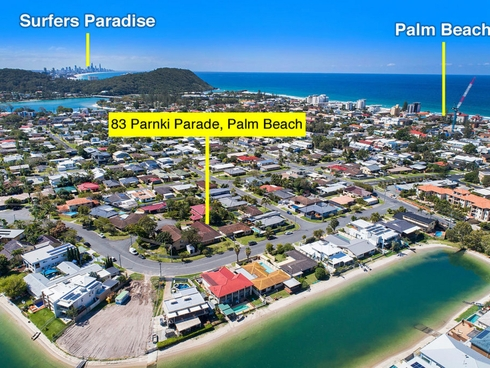 83 Parnki Parade Palm Beach, QLD 4221