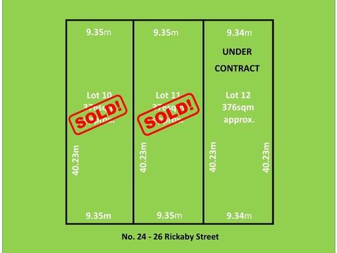 Lot 12/24-26 Rickaby Street Croydon Park, SA 5008