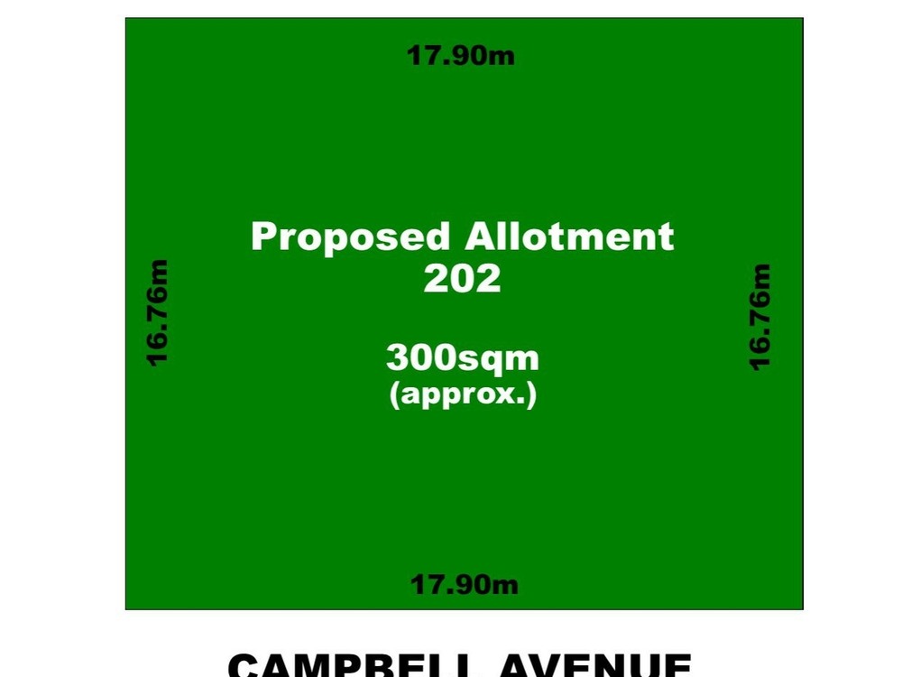 Allotment 202 Campbell Avenue Rosewater, SA 5013