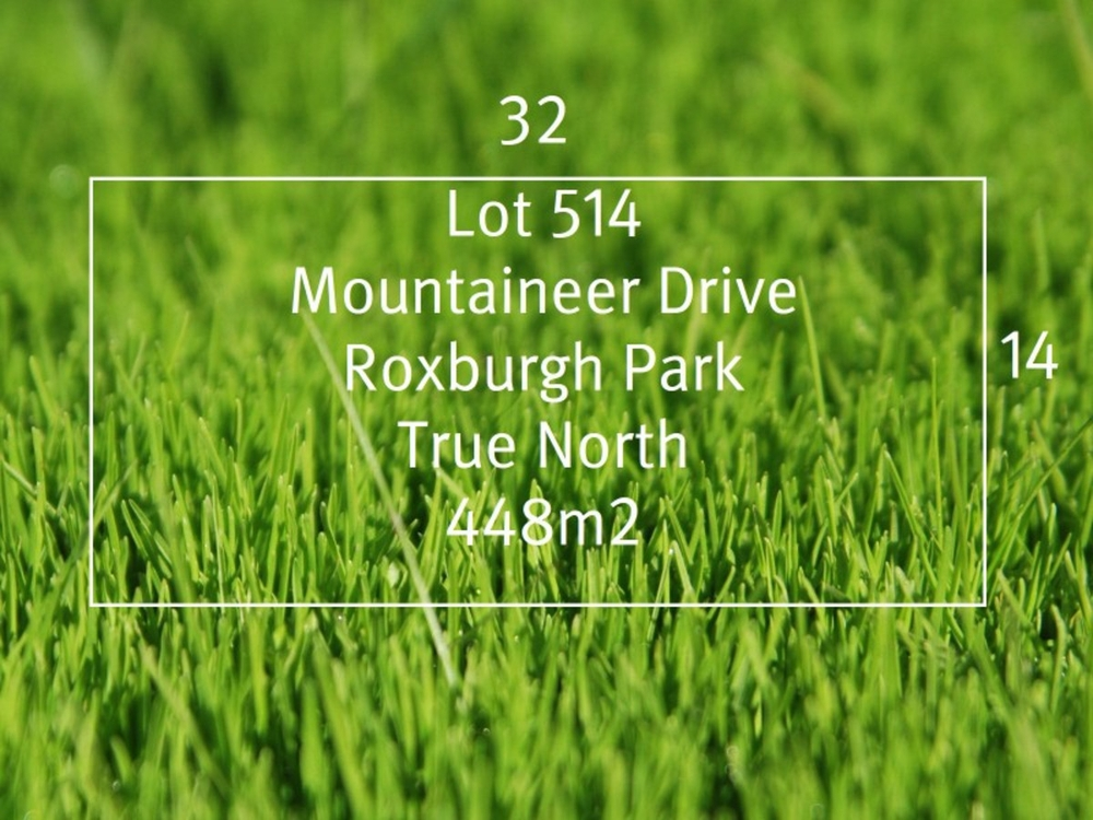 Lot 514 Mountaineer Drive Roxburgh Park, VIC 3064